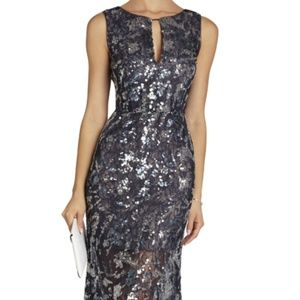 BCBGMaxAzria Hana Knee-Length Sequin Dress